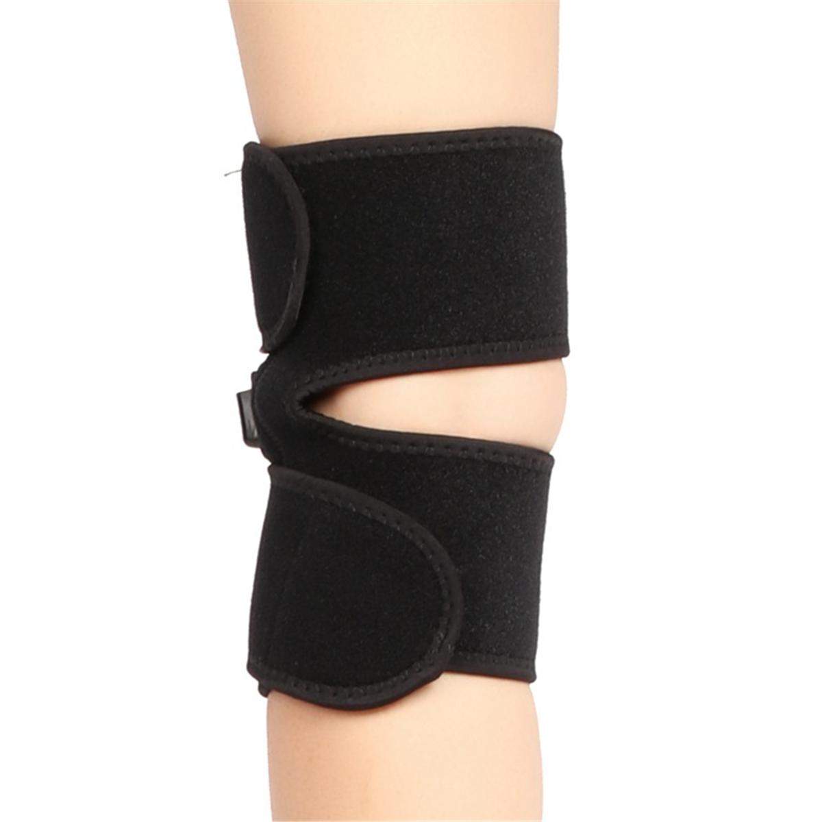 USB Heated Knee Pad Electric Warm Therapy Leg Wrap Belt Brace Arthritis Pain Relief