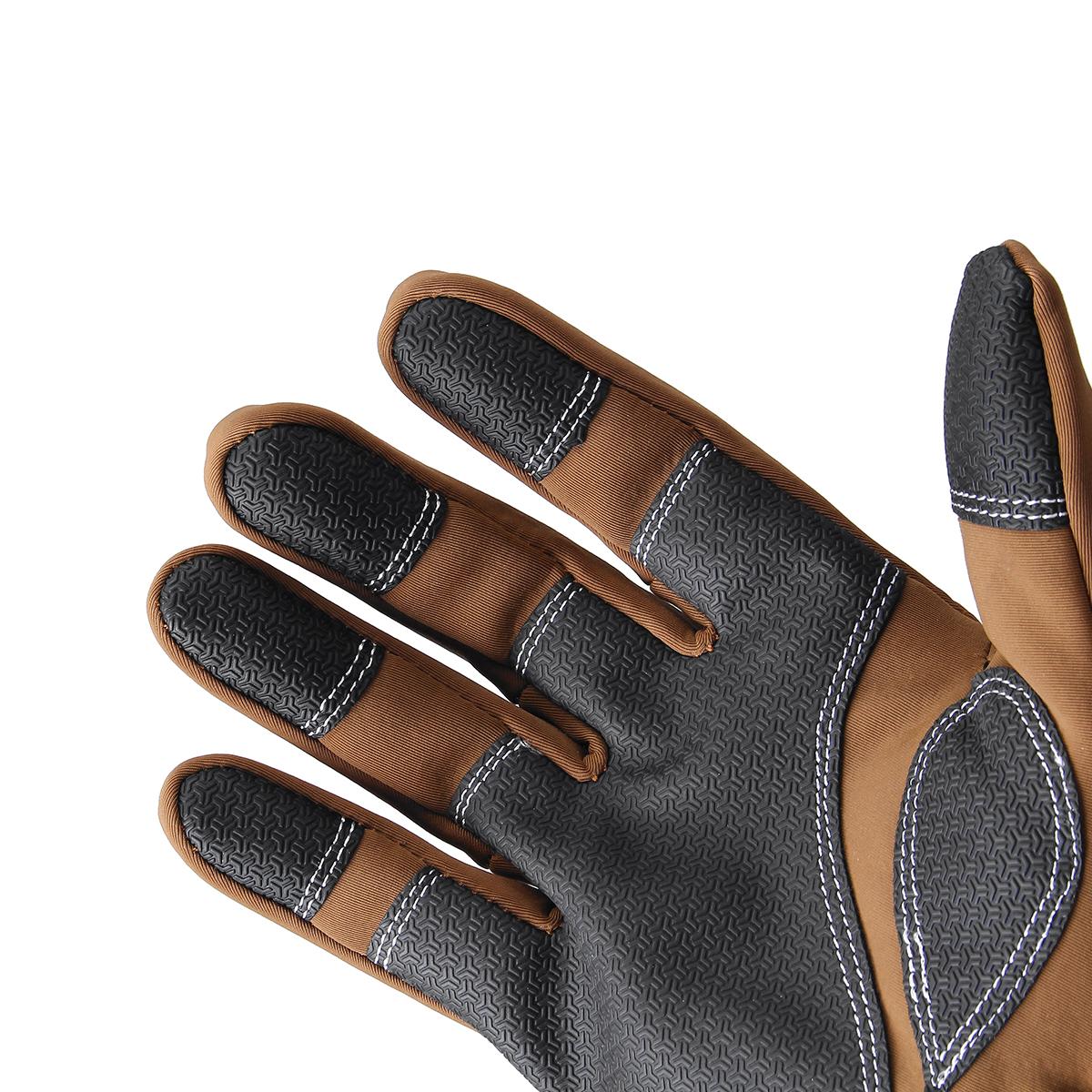Men Sport Gloves Winter Warm Thermal Gloves Touchscreen Windproof Waterproof Cycling Skiing Mitten