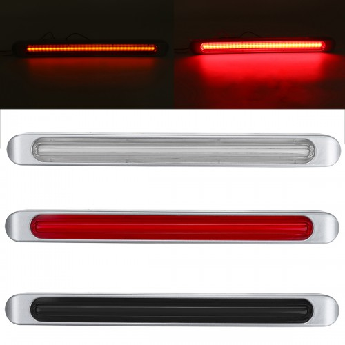 72LED 3rd Brake Lights Dynamic Stop Rear Turn Signal Lamp Bar Waterproof for Truck Trailer