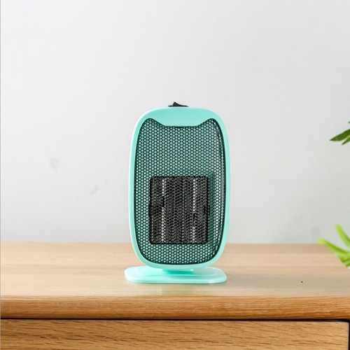 500W Mini Electric Ceramic Heater Portable Silent Home Office Heating Fan Winter Warmer