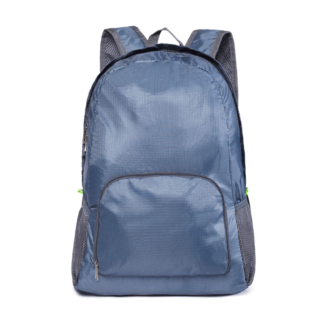 420D Polyester Waterproof Backpack Folding Sports Shoulder Bag Climbing Hiking Bag