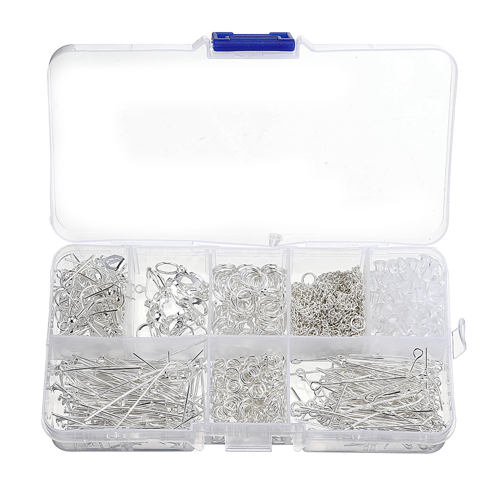 10X Snake Chain Key Rings Silver DIY Jewelry Findings Craft Jewelry AccessorHFFS