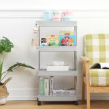 2/3/4 Layers Movable Kitchen Bathroom Storage Rack Shelf Organizer Slim Space Saving Rack