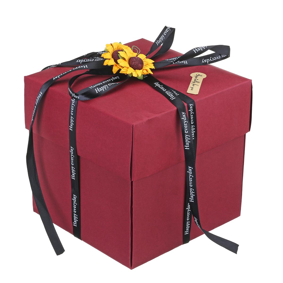 Creative DIY Photo Album Gift Surprise Mystery Gifts Gift Box Valentine's Day Scrapbook Wedding Xmas