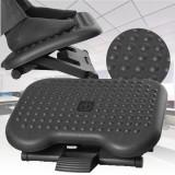 Adjustable Tilting Footrest Under Desk Ergonomic Office Foot Rest Pad Footstool Foot Pegs