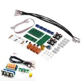 DIY Relay 4-way Audio Input Signal Selector Switching Kit RCA Audio Input Selection Board of Rotary Switching for Amplifier