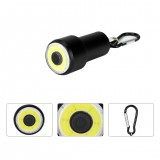 COB 4Modes Key Chain Flashlight Mini LED Flashlight Outdoor Portable Aluminium Alloy AAA Flashlight