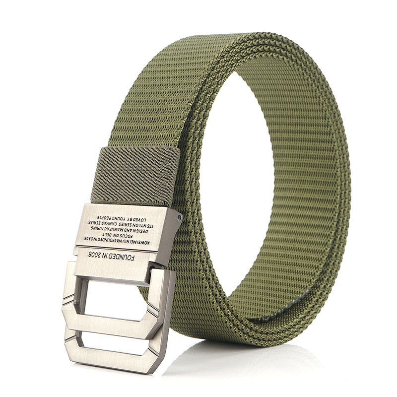 AWMN 120cm Nylon Belt Metal Buckle Quick Release Tactical Belts Hunting Camping