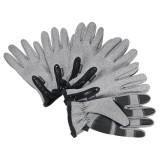 S/M/L/XL/2XL Motorcycle Skiing Sport Warm Gloves Winter Touch Screen Thermal Waterproof Reflective Strip Zipper Mitt