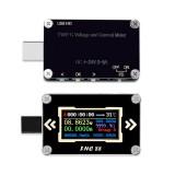 FNC88 Type-C PD Trigger USB-C Voltmeter Ammeter Voltage 2 Way Current Meter Multimeter PD Recharger Battery USB Tester