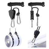 Xmund XD-LP1 2 Pcs Pendant Hook Pulley Rope Climbing Pulley EDC Camping Portable Survival Tool