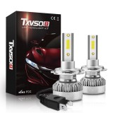 TXVSO8 G1 COB LED Car Headlights Bulbs H7 H11 H1 9012 9006 9005 Fog Lights 110W 20000LM 6000K White Waterproof