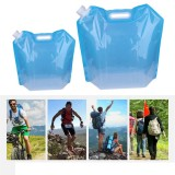 5L/10L Portable PVC Eco-friendly Foldable Water Storage Bag Outdoor Camping Traveling Water Bucket