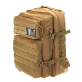 45L Large Outdoor Military Tactical Backpack Camping Travel Rucksack Hiking Bag