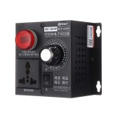 AC 220V 4000W Electronic Variable Voltage Regulator Speed Motor Fan Control Controller