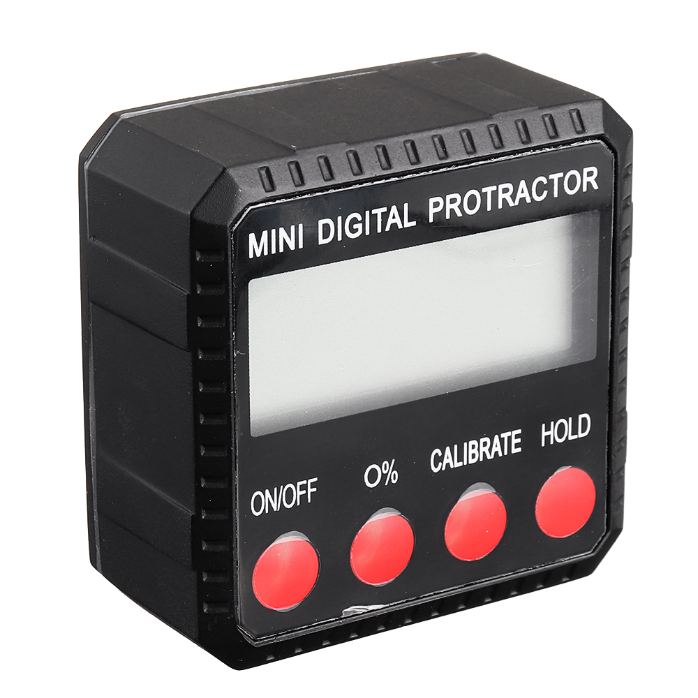 360 Degree Mini Digital Display Level Angle Protractor Inclinometer Measuring Magnet Tools