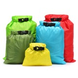 1.5L-6L 5Pcs Waterproof Dry Bag Buckled Storage Sack Drift Beach Swimming Bags