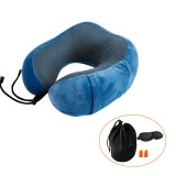 Memory Foam Neck Pillow Portable Head Neck Support Rest Cushion for Travel Office Driving Nap