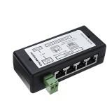 5pcs 4Ports POE Injector POE Splitter for CCTV Network POE Camera Power Over Ethernet IEEE802.3af