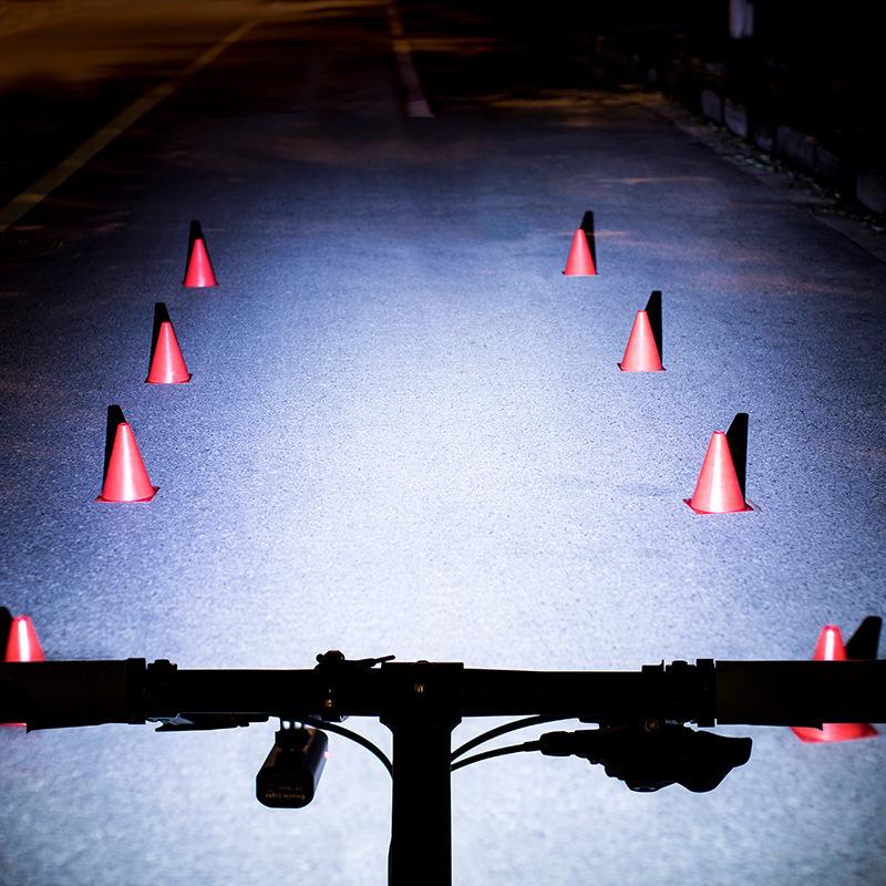 ROCKBROS 400LM Bike Front Light 3 Modes IPX3 Waterproof USB Charging Bicycle Night Riding Warning Light