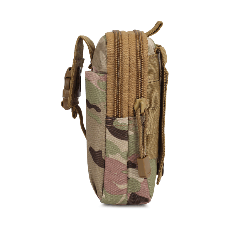 BENNIU BL064 Oxford MOLLE System Camouflage Military Tactical Waist Bag Outdoor Waterproof Sports Waist Bag Crossbody Bag