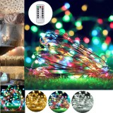 10M 100 LED String Light USB Fairy Night Lamps Holiday Christmas Decor + Remote Control
