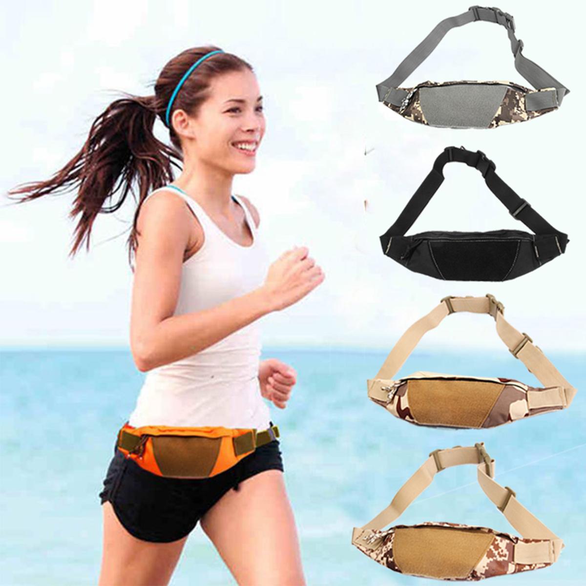 Outdoor Women Men Tactical Waist Bag Adjustable Sports Bag Camping Hiking Traveling Climbing Bag