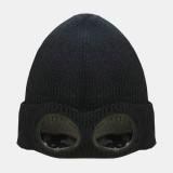 Sunglasses Velvet Ski Cap Knit Warm Wool Small Cap Beanie