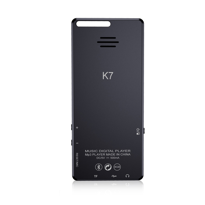 K7 8GB 2.4inch bluetooth Lossless MP3 MP4 Music Video Player Built-in Speaker Recording Ebook