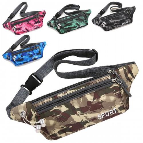 Sports Waist Bag Crossbody Bag Phone Bag For Outdoor Sports Hiking Jogging Climbing Running