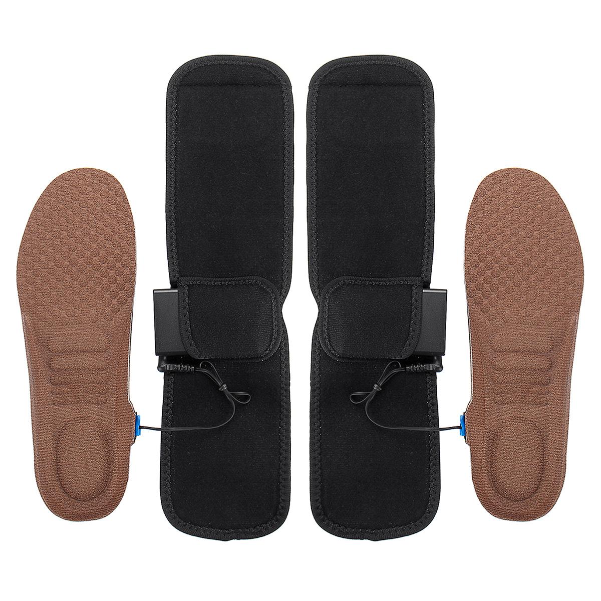 Electric Heated Shoe Insole Sock Feet Heater USB Battery Heat Foot Warmer Pad