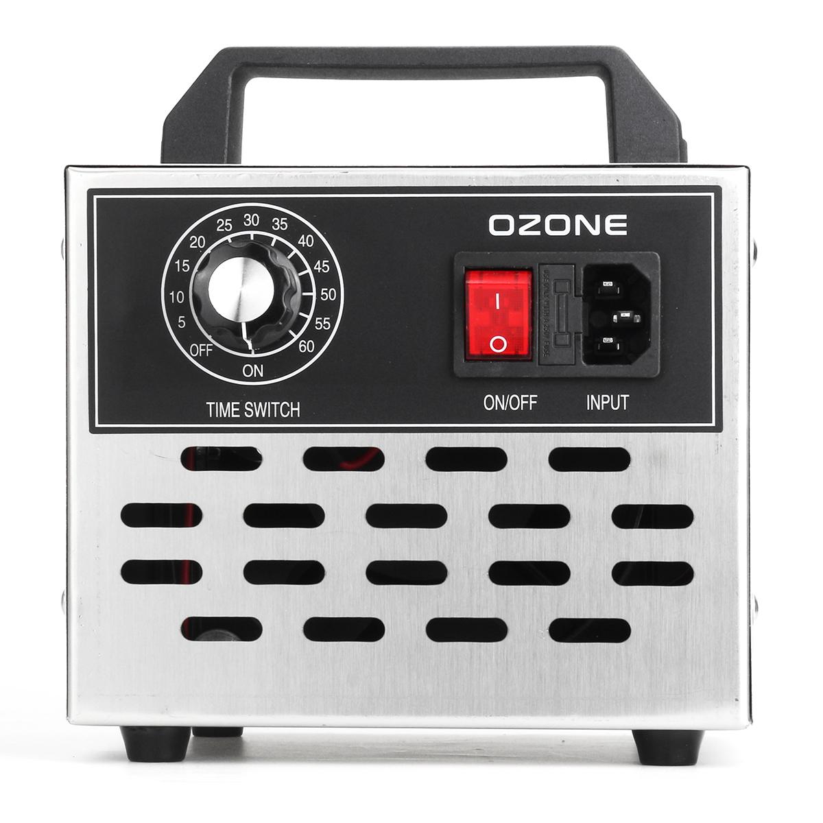 220V 3.5g/5g/7g/10g Ozone Generator Air Purifier Disinfection Cleaner Sterilizer Machine