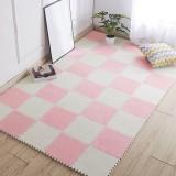 6pcs 30cm(11.8″) Baby Crawling Mat EVA Foam Flush Fluffy Carpet Kids Children Puzzle Play Rugs
