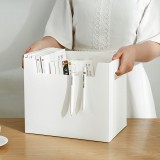 Desktop Multifunctional File Holder Documents Magazines Books Container Household Clothes Storage Box Sundries Organizer