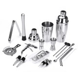 22PCS Cocktail Xixing Tool Alcohol Blending Set Cocktail Mixing Tools Cocktail Shaker Cocktail Set