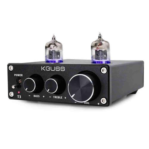 KGUSS T3 6J1 Treble Bass Adjustment Preamp Tube Vacuum Amplifier Preamplifier