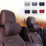 1pcs Space Memory Cotton Car Headrest U Shaped Functional Neck Pillow Auto Head Pillow Cushion Travel Pillow