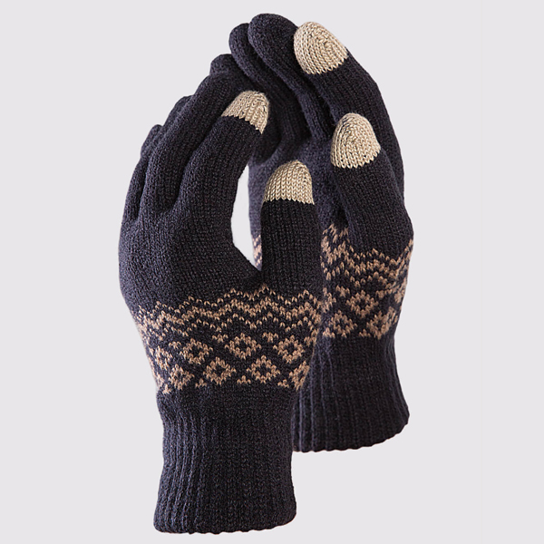 FO 1 Pair Touch Screen Gloves From Xiaomi Youpin Winter Warm Velvet Cycling Motorcycle Glove Full Finger Gloves