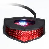 12V 5 In 1 Motorcycle ATV LED Rear Tail Brake Stop Turn Signal License Plate Light