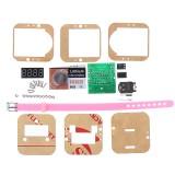 Electronic DIY Production Kit Circuit Board Parts Shake Electronic Watch Kit Clock Digital Tube Watch
