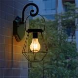 Solar Powered Vintage LED Lantern Hanging Light Outdoor Garden Yard Lamp Decor