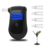 AT810 Alcohol Content Tester Breathalyzer Professional Alcohol Content Detector
