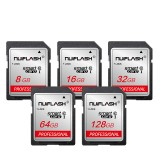 Nuiflash SD Card 32GB Class10 SDHC 64GB 128GB SDXC Memory Card SD Flash Card for Camera