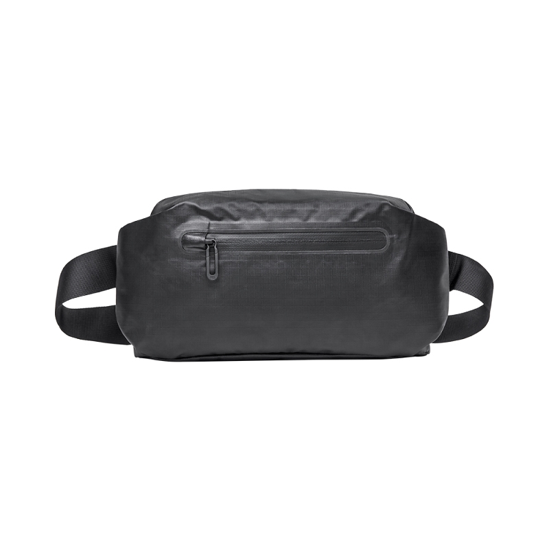 Original Xiaomi Fashionable Waterproof Waist Bag with Reflective Strip (Black)