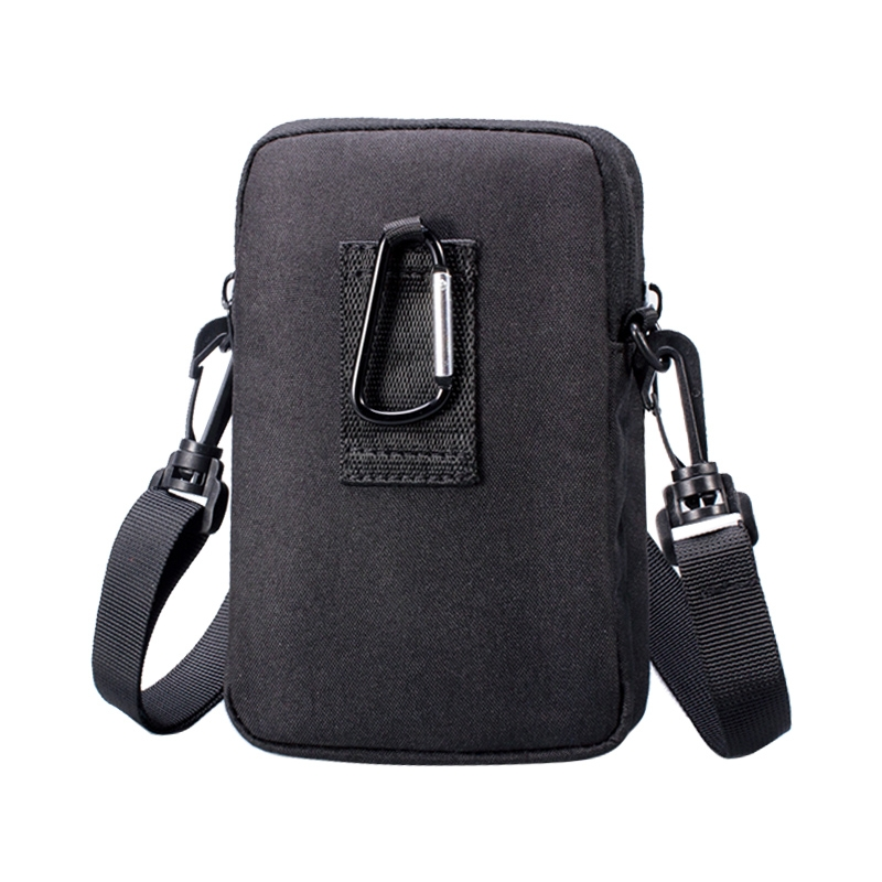 WEIXIER 8609 Multifunctional Mobile Phone Bag Outdoor Sports Waist Bag Single Shoulder Bag (Grey)