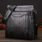 WEIXIER 15036 Multifunctional Men Business Messenger Bag Single Shoulder Bag (Black)