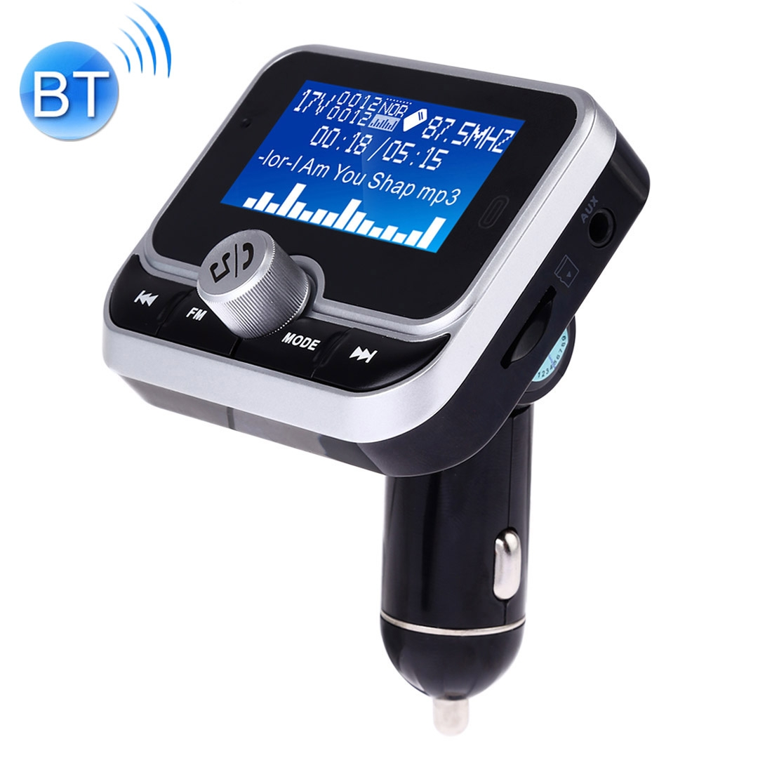 Bc32 Dual Usb Charging Bluetooth Hand Free Car Charger Fm Transmitter Mp3 Music Player Car Kit Support Hands Free Call Micro Sd Recording Voltage Detection Alexnld Com