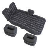 Universal Car Travel Inflatable Mattress Air Bed Camping Back Seat Couch, Size: 90x135cm (Black)