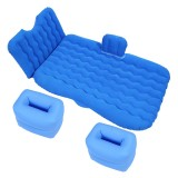 Universal Car Travel Inflatable Mattress Air Bed Camping Back Seat Couch, Size: 90x135cm (Blue)
