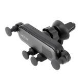 Universal Car Air Vent Mount Phone Holder Stand, Clip Width: 67-87mm (Grey)